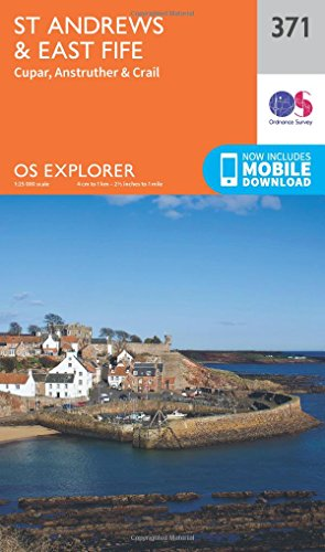 9780319246184: St Andrews and East Fife (OS Explorer Active Map)