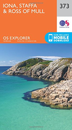 9780319246207: Iona, Staffa and Ross of Mull 1 : 25 000 (OS Explorer Active Map)
