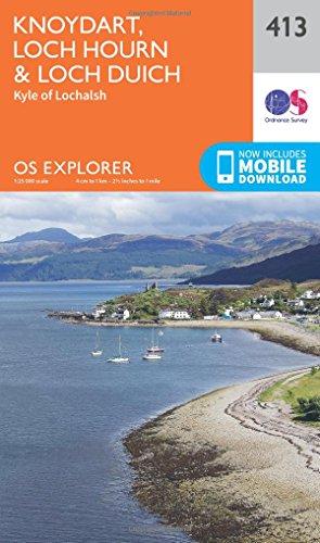 9780319246481: Knoydart, Loch Hourn and Loch Duich (OS Explorer Active Map)