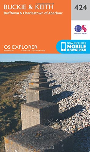 9780319246566: Buckie and Keith (OS Explorer Active Map)