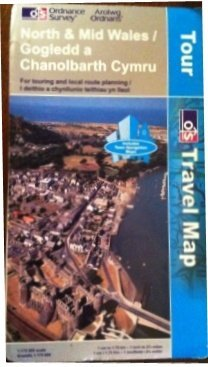 9780319250761: North and Mid Wales/Gogledd a Chanolbarth Cymru (Tour Maps) OS (Touring Maps)