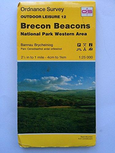 Outdoor Leisure Maps: Brecon Beacons - National: Ordnance Survey