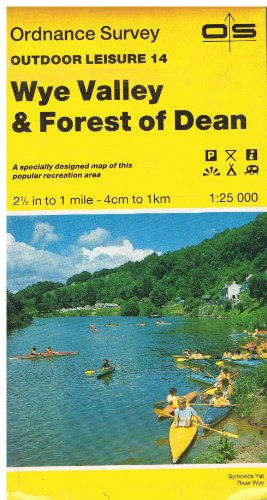 9780319260142: Wye Valley and Forest of Dean (Outdoor Leisure Maps)