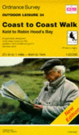 9780319260616: Keld to Robin Hoods Bay (Outdoor Leisure Maps)