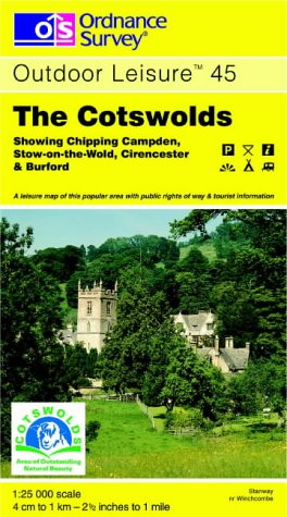 The Cotswolds (Outdoor Leisure Maps): Ordnance Survey