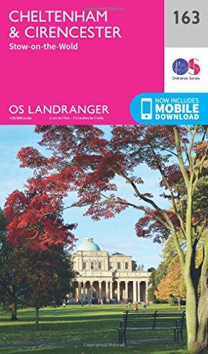 Cheltenham & Cirencester, Stow-on-the-Wold (OS Landranger Map): Ordnance Survey