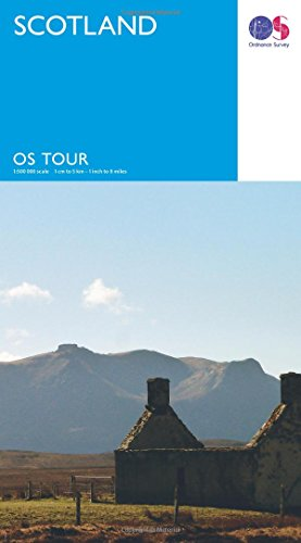 9780319263228: Scotland (OS Tour Map) 1:500K
