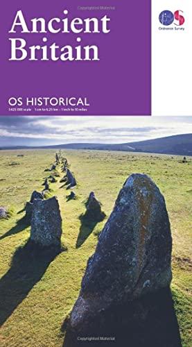 9780319263242: Ancient Britain Historical Map OS 1:625K