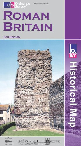 Roman Britain (Historical Map & Guide): Ordnance Survey