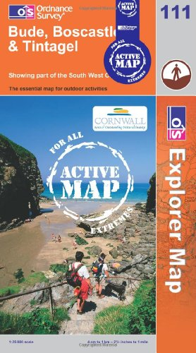 9780319461303: Bude, Boscastle and Tintagel (OS Explorer Map Active)