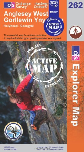 Anglesey West (OS Explorer Map Active): Ordnance Survey