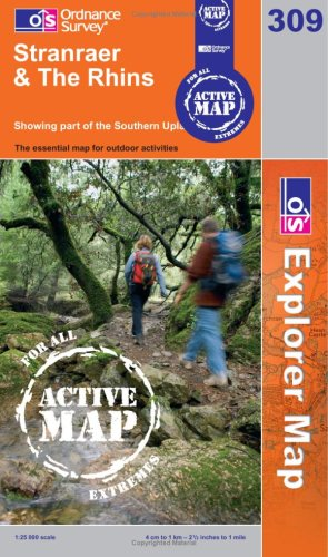 9780319464519: Stranrear and The Rhins (OS Explorer Map Active)