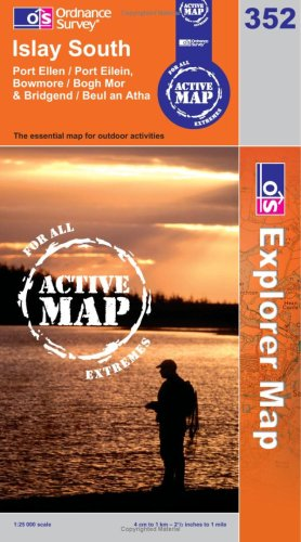 Islay South (OS Explorer Map Active): Ordnance Survey