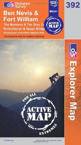 9780319465790: Ben Nevis (OS Explorer Map Active)