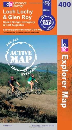 9780319466261: Loch Lochy and Len Roy (OS Explorer Map Active)