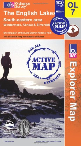 9780319467176: The English Lakes - South Eastern Area (OS Explorer Map Active)