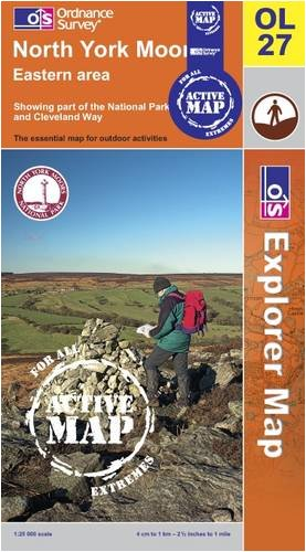 9780319467497: North York Moors - Eastern Area (OS Explorer Map Active)