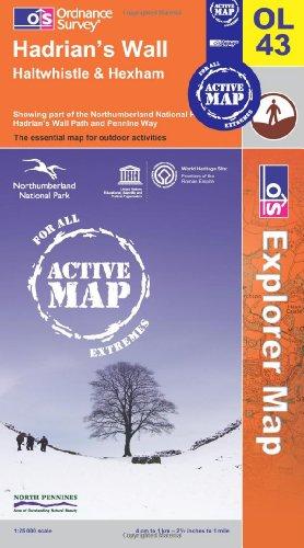 9780319467923: Hadrian's Wall (OS Explorer Map Active)
