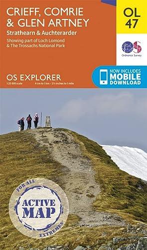 Crieff, Comrie & Glen Artney, Strathearn & Auchterarder (OS Explorer Map): Ordnance Survey
