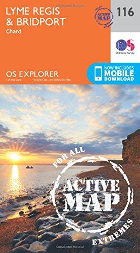 9780319469965: Lyme Regis and Bridport (OS Explorer Map)
