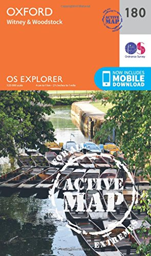9780319470527: Oxford, Witney and Woodstock (OS Explorer Map)