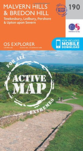 9780319470626: Malvern Hills and Bredon Hill (OS Explorer Map)
