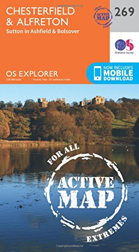 Chesterfield and Alfreton (OS Explorer Active Map): Ordnance Survey