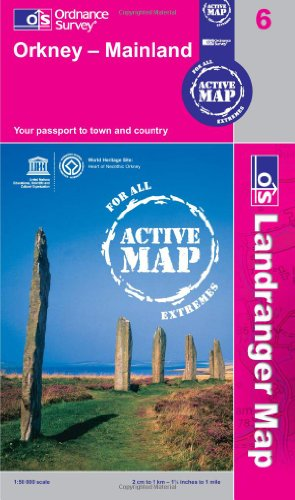 9780319480564: Orkney - Mainland (OS Landranger Active Map)