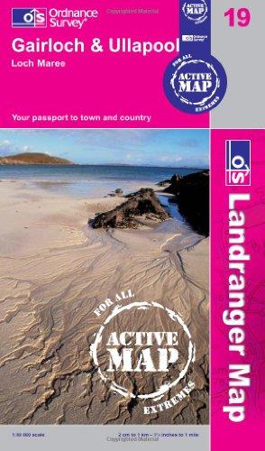 9780319480694: Gairloch & Ullapool, Loch Maree (OS Landranger Active Map)