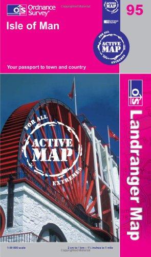 9780319481356: Isle of Man (OS Landranger Active Map)