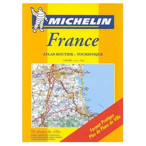 9780320039522: France: Atlas Routier et Touristique (Michelin Road Atlases)