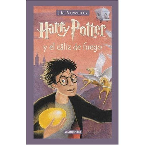 9780320047954: Harry Potter y el Caliz de Fuego (Spanish edition of Harry Potter and the Goblet of Fire)