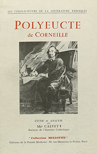 9780320049675: Polyeucte de Corneille - Etude et Analyse (French Edition)