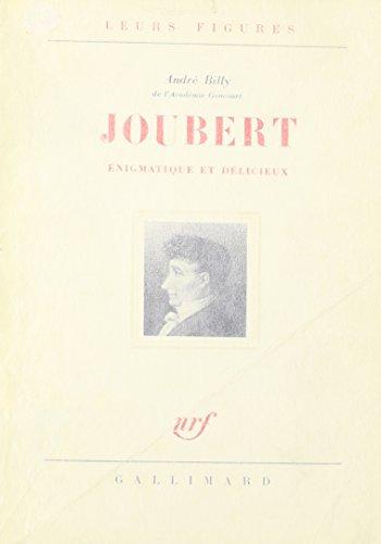 9780320049965: Joubert Enigmatique Et Delicieux