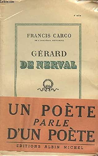 9780320050510: Gerard De Nerval (albin Michel) (French Edition)