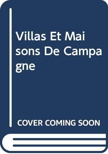 9780320051159: Villas Et Maisons De Campagne (French Edition)