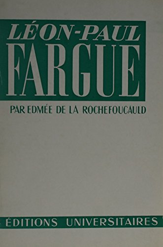 9780320053887: Leon-Paul Fargue (French Edition)