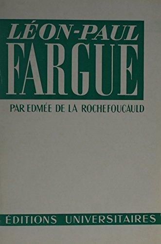 9780320053887: Lp Fargue