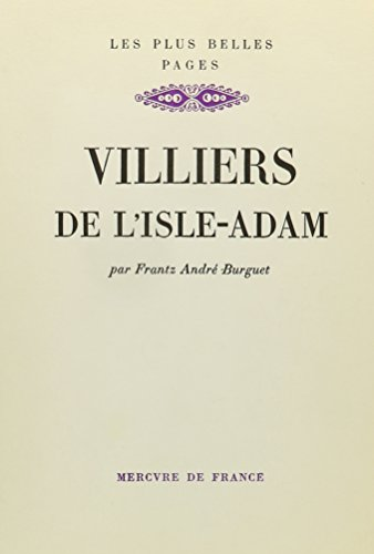 9780320054075: Villiers De L'isle D'adam (French Edition)