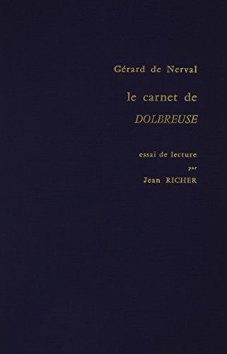 9780320055836: Le Carnet De Dolbreuse: Essai De Lecture