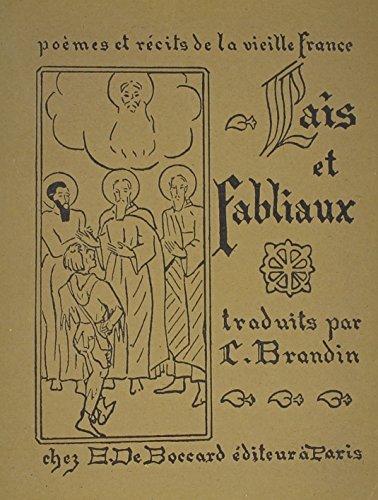 9780320060199: Poemes Et Recits De La Vieille France: Lais Et Fabliaux (French Edition)
