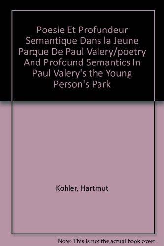 9780320061110: Poesie Et Profundeur Semantique Dans