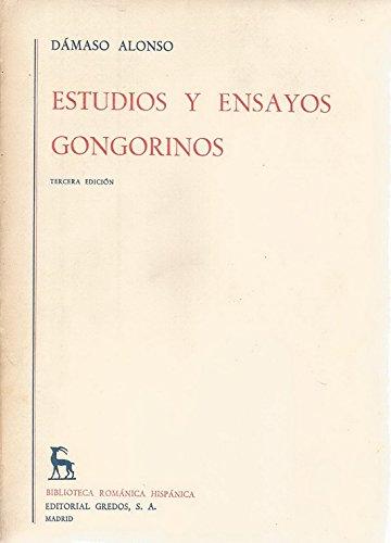 9780320061769: Estudios y ensayos gongorinos / Studies and Trials Gongoristic (Spanish Edition)