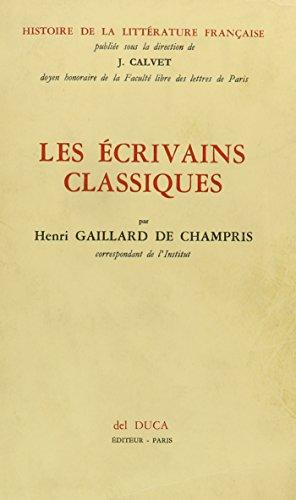 9780320063244: Les Ecrivains Classiques (French Edition)