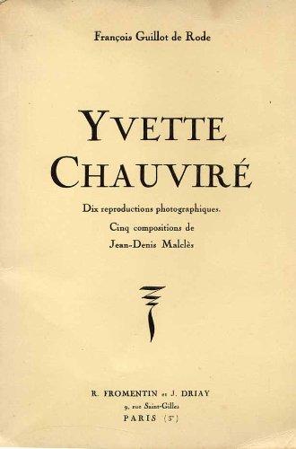 9780320064623: Yvette Chauvire - Dix Reproductions Photographiques
