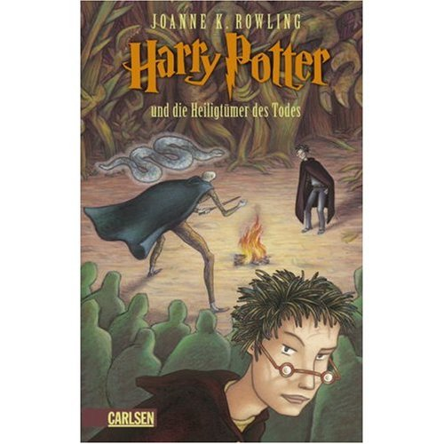 Harry Potter und die Heiligtumer des Todes (German edition of Harry Potter and the Deathly Hallows (0320068471) by J.K.Rowling