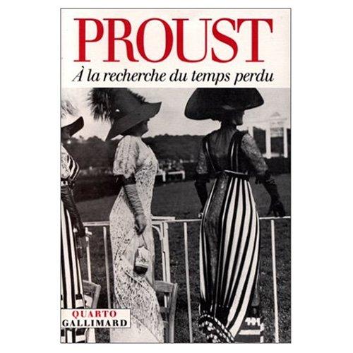 A la Recherche du Temps Perdu (French: Marcel Proust