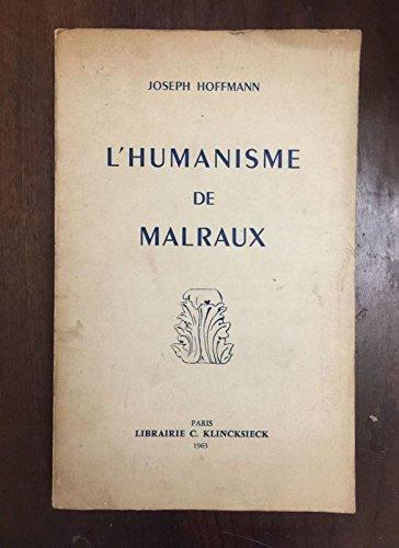9780320075315: L'Humanisme de Malraux (French Edition)