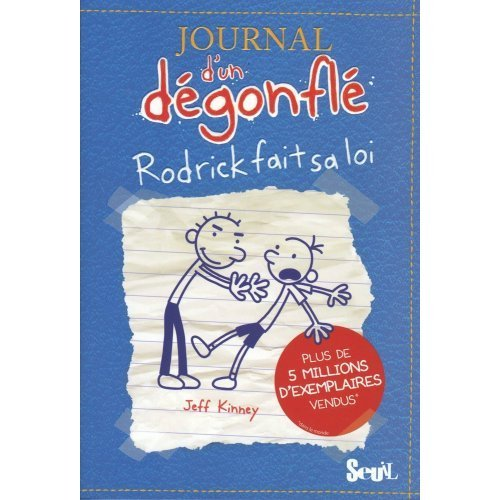 9780320079658 Journal D Un Degonfle Rodrick Fait Sa Loi Diary Of A Wimpy Kid Volume 2 Rodrick Rules In French French Edition Abebooks Jeff Kinney 0320079651