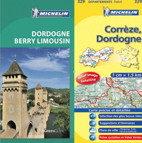 Michelin Green Guide Dordogne Pack - Guide in English plus map: Michelin Editorial Staff